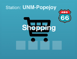 station.UNM-Popejoy Shopping