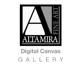Digital Canvas Gallery