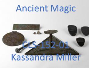Union College CLS-152-01 Ancient Magic. Spring 2018