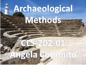 Union College CLS-202-01 Archaeological Methods. Spring 2018